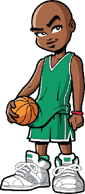 Basketball Player | Clipart