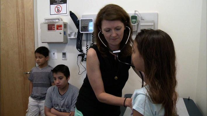 Wave of Undocumented Children Challenges Health Care Programs - Video