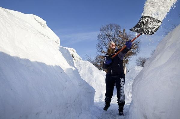 Record Snowfalls Hit Boston