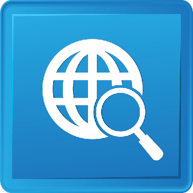 Global Searching Button | Clipart
