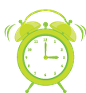 Cute Clock Alarm | Clipart