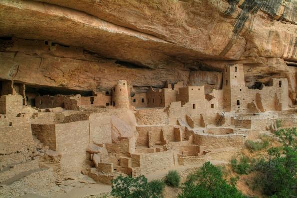Anasazi Cliff Dwellings at Mesa Verde National Park