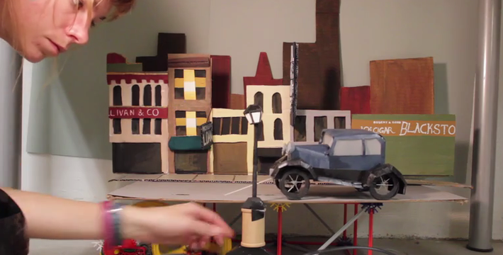 Behind the Scenes: A Series of Kinetic Sets Tells a Story | Film School Shorts