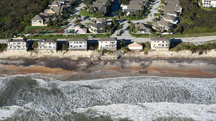 Hurricane Matthew Destruction in Vilano Beach