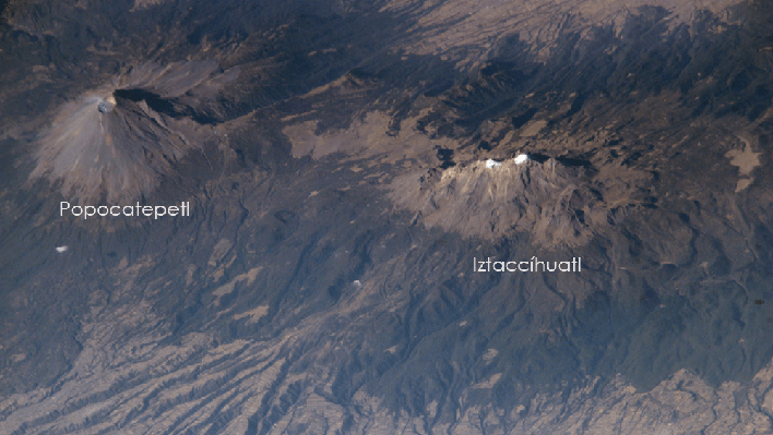 Mexico's Popocatepétl and Iztaccíhuatl Volcanoes