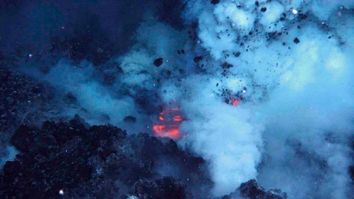 West Mata Underwater Volcano