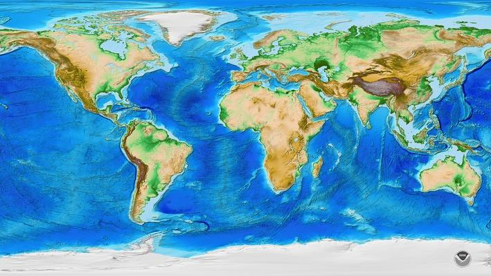 Global Patterns of Mountain Ranges | PBS LearningMedia
