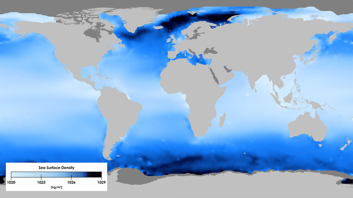 Sea Surface Density