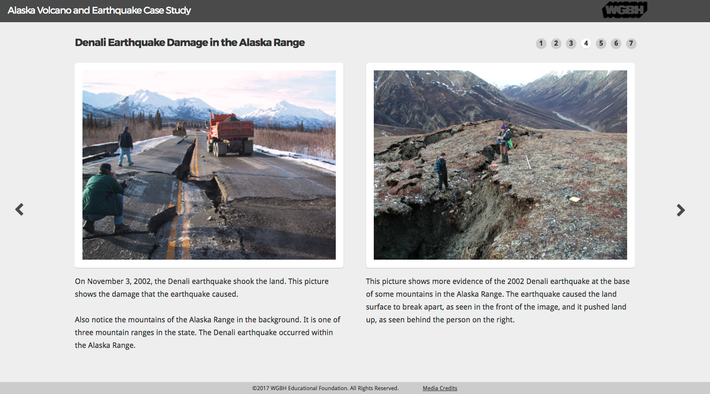 Alaska Volcano and Earthquake Case Study