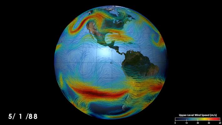 Earth's Jet Streams