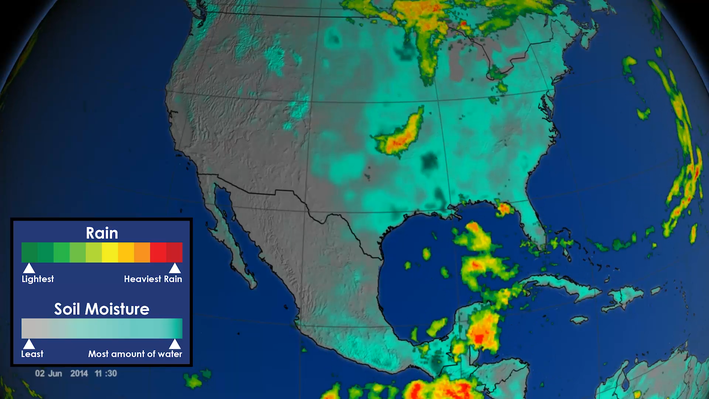 North American Monsoon Weather Pattern