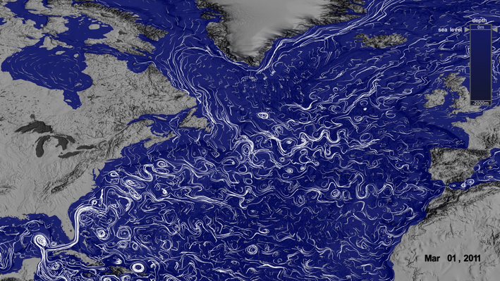 North Atlantic Surface and Deep Currents