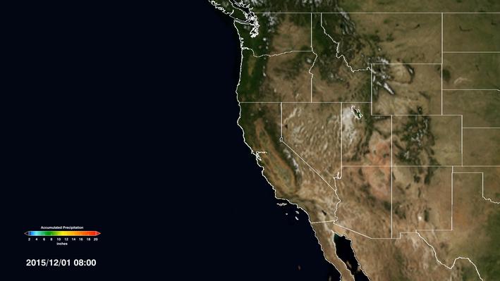 Precipitation in the Pacific Northwest