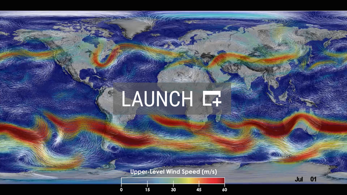 Surface and Upper-Level Winds | High Resolution