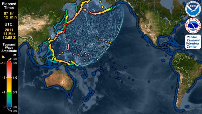 Tsunami Propagation
