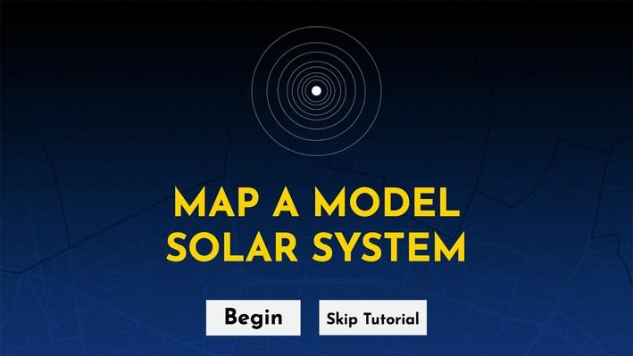Map A Model Solar System