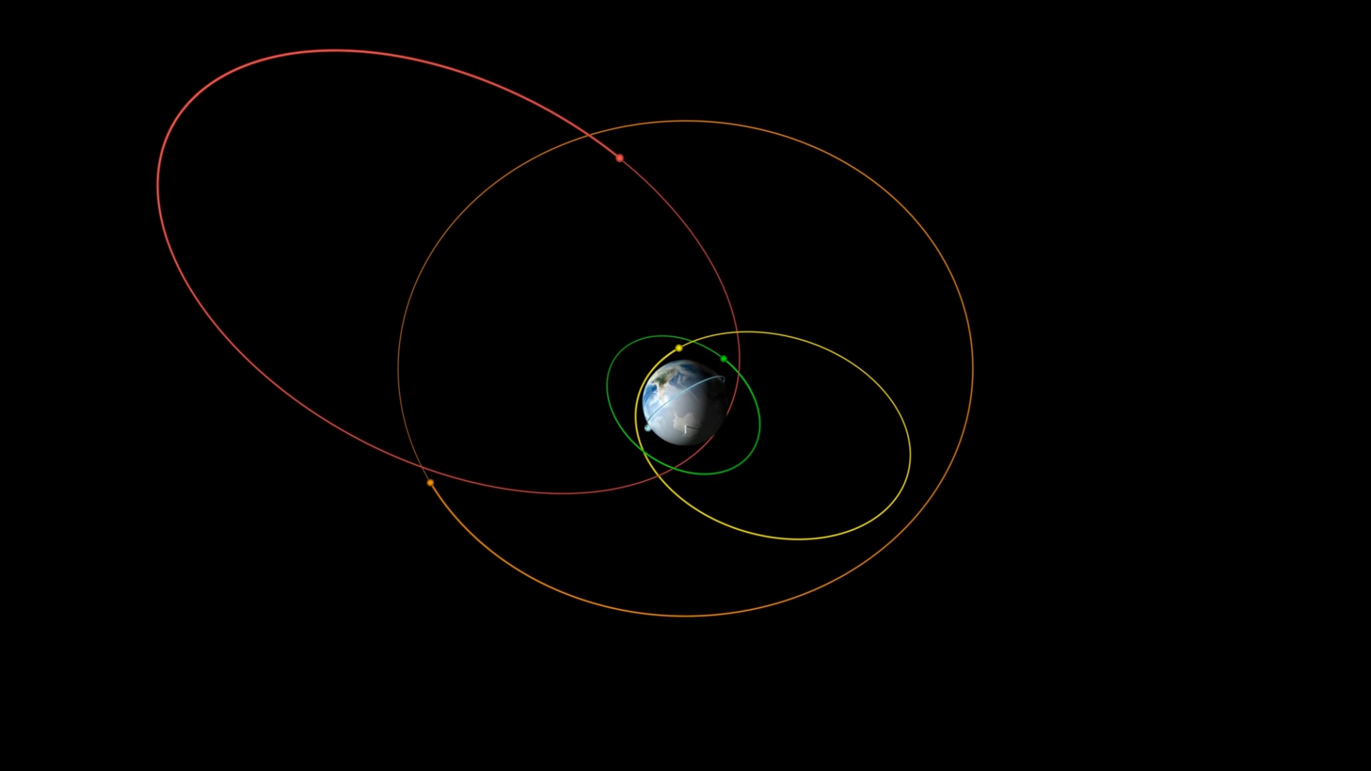 Kepler's Laws of Planetary Motion Described Using Earth Satellites