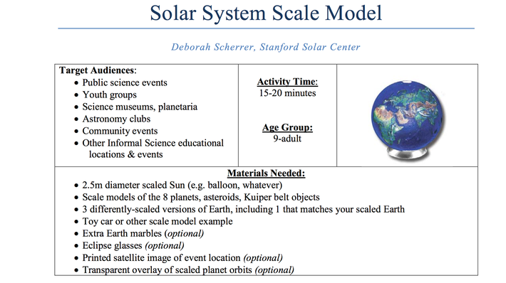solar system scale model science document pbs learningmedia. Black Bedroom Furniture Sets. Home Design Ideas