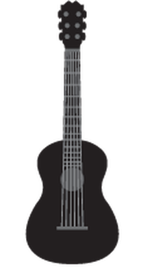 Music Instruments Silhouette | Clipart