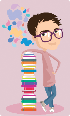 Young Intellectual | Clipart