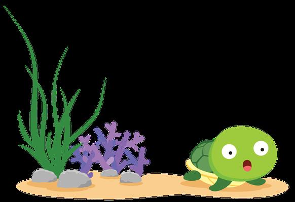 Sea Life - Turtle | Clipart
