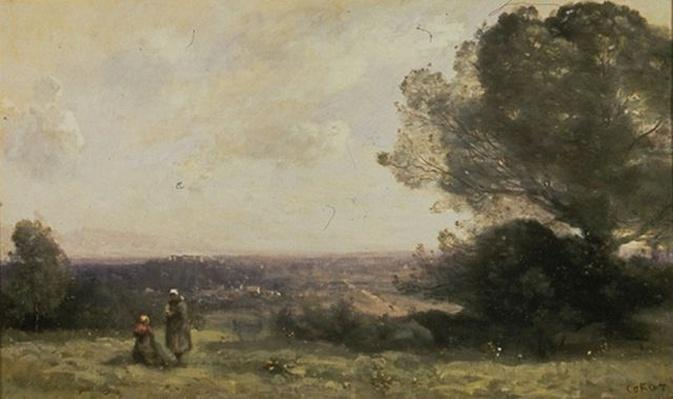 Val A. Browning Memorial Collection: The Countryside at Boissy-Saint-Leger