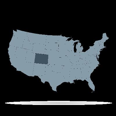 U.S. States - Colorado | Clipart