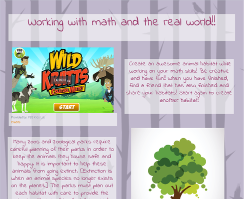 Working with math and the real world