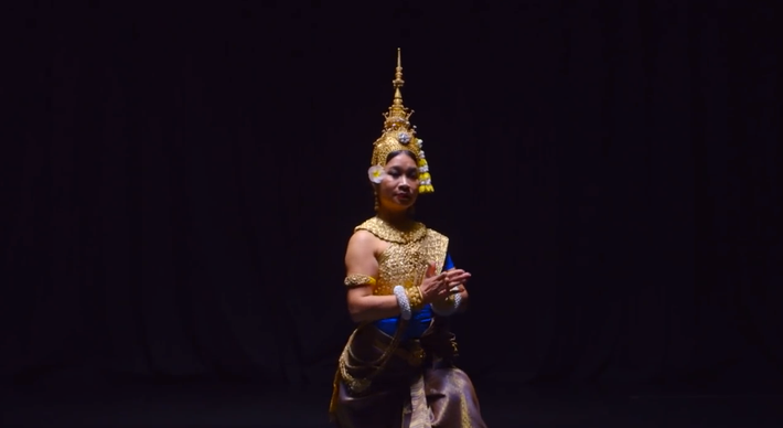 Cambodia's Dark Past Behind Her, A Dancer Steps into the Light