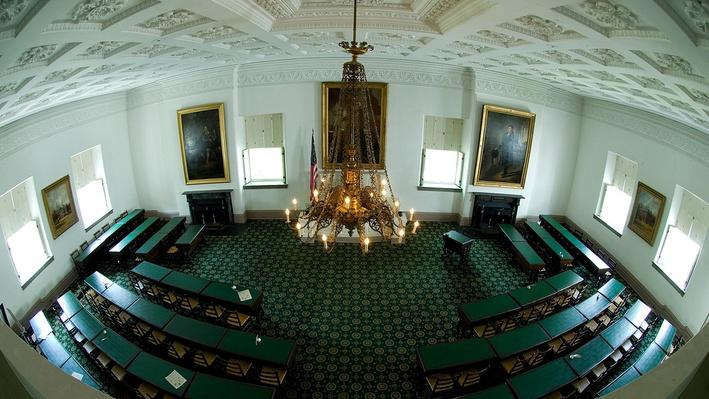 Kentucky's old state capitol building