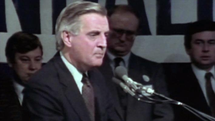 Iowa Caucus History: Walter Mondale Battles Expectations in 1984