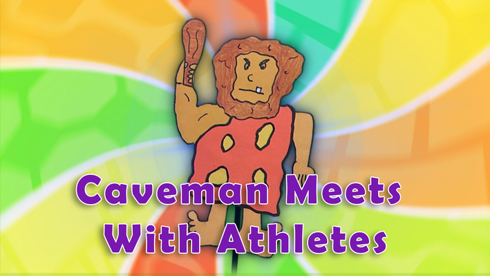 Eat Healthy Food: Caveman Meets Athletes