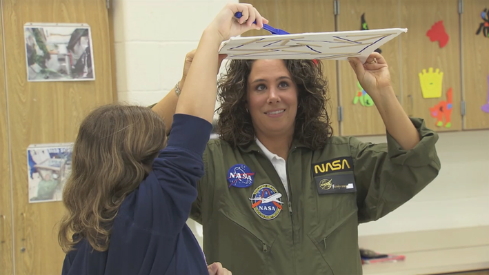 Teaching from Space
