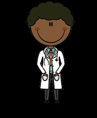 African-American Doctors | Clipart