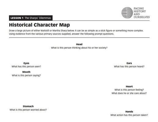 The Sharps' Dilemmas | Historical Character Map | Defying the Nazis: The Sharps' War