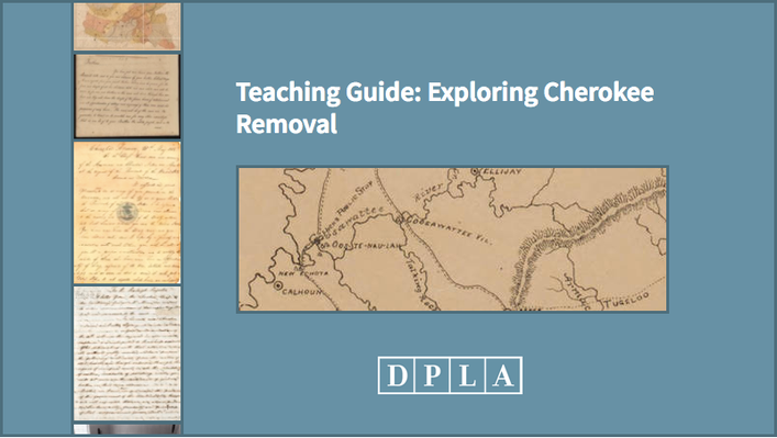 Teaching Guide: Exploring Cherokee Removal