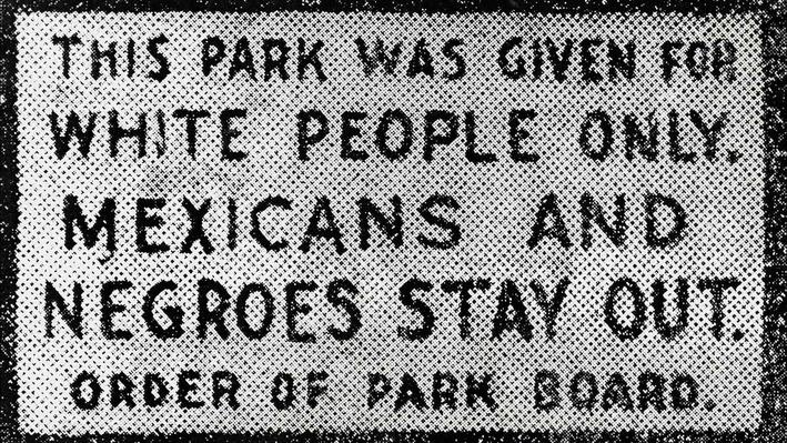 A Class Apart: Discrimination against Mexican-Americans