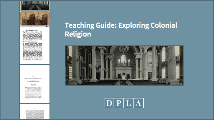Teaching Guide: Exploring Colonial Religion
