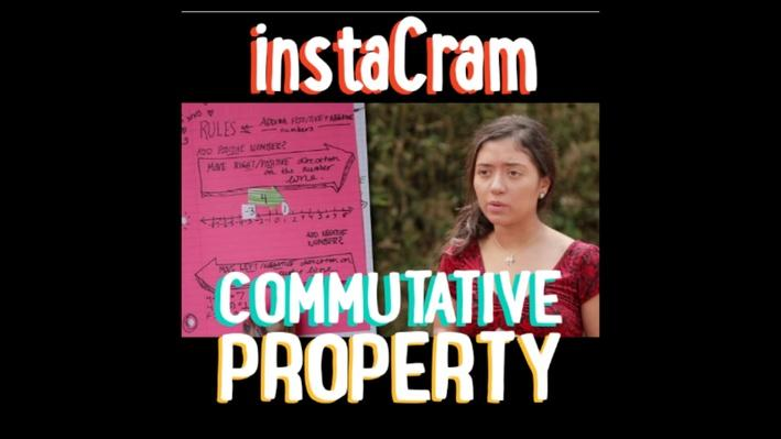 Commutative Property of Addition | PBS Math Club: InstaCram
