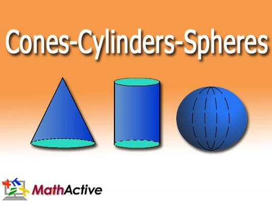 Cone Cylinders Spheres | Spanish Voice