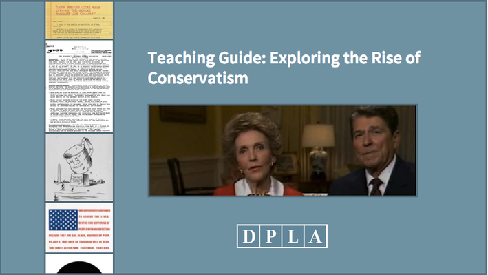 Teaching Guide: Exploring the Rise of Conservatism