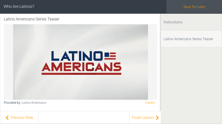 Who Are Latinos?