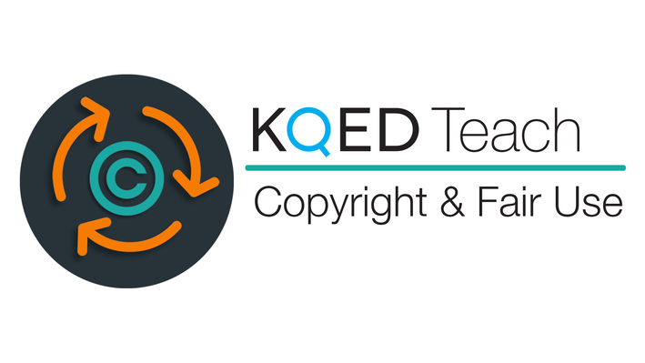 KQED logo with text copyright and fair use