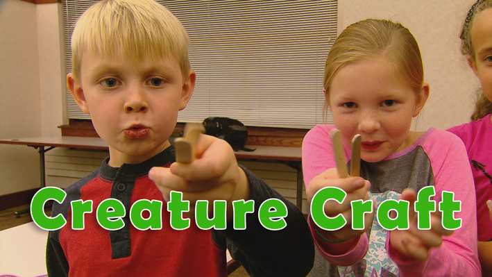 Read a Good Book: Kids Create Creature Crafts