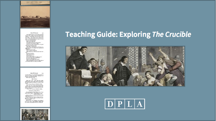 Teaching Guide: Exploring The Crucible