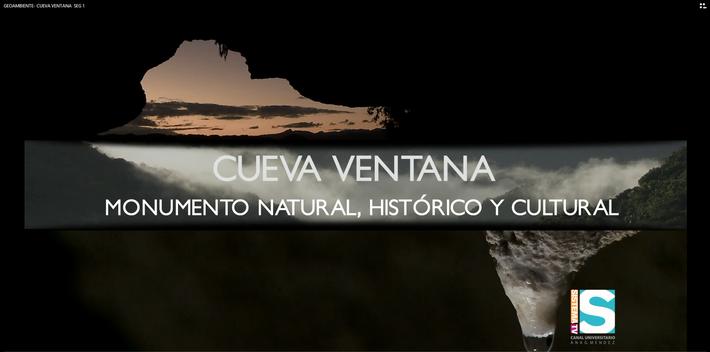 Geoambiente: Cueva Ventana seg. 1