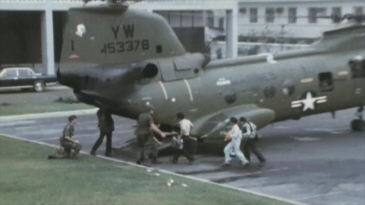 U.S. Evacuation and Fall of Saigon During the Vietnam War