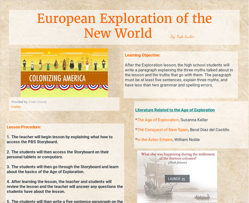 MUCI345 l European Exploration of the New World