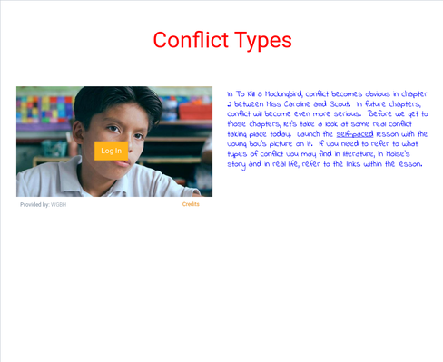Conflict in Literature:  How does conflict drive the plot?