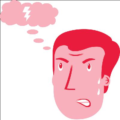 Anxious Man | Clipart